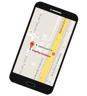 Harta adresa FivePlus